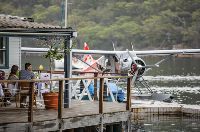Lunch at Cottage Point Inn by Seaplane from Sydney