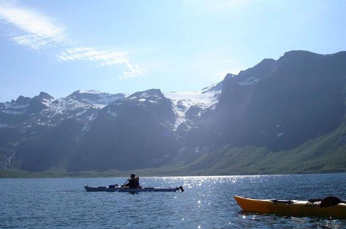 Sea kayaking in tromso in troms 327439