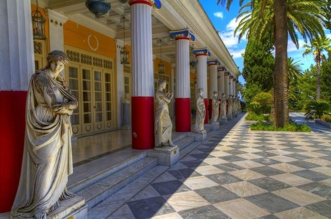 Achillion paleokastritsa corfu private tour in corfu 328665