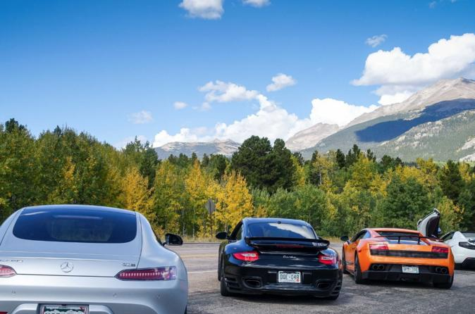 25-Mile Colorado Canyon Test Drive in a Luxury Supercar