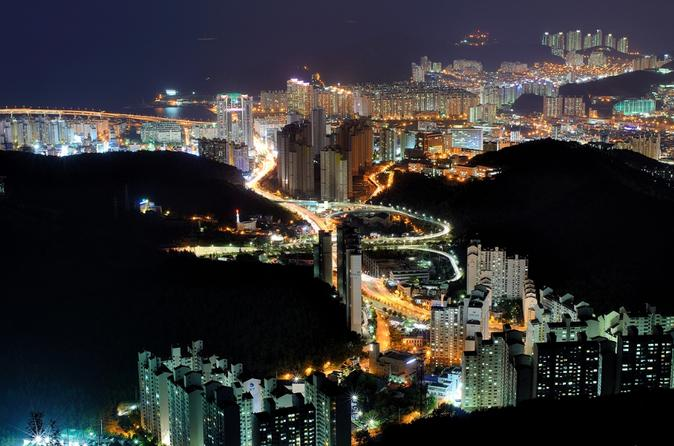 Busan night tour including a cruise in busan 331891