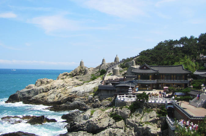 Full day busan tour including haedong yonggungsa temple in busan 349398