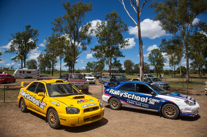 NSW Rally Car Drive 2 Car Blast 16 Laps and Ride Experience