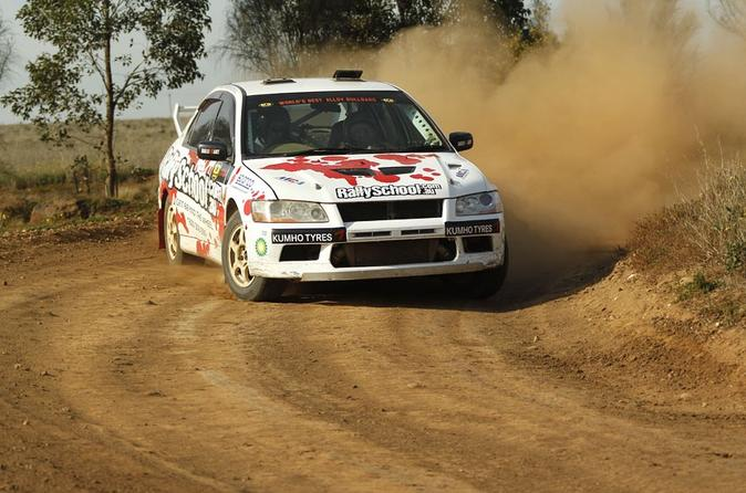 NSW Rally Car Drive 8 Lap and Ride Experience