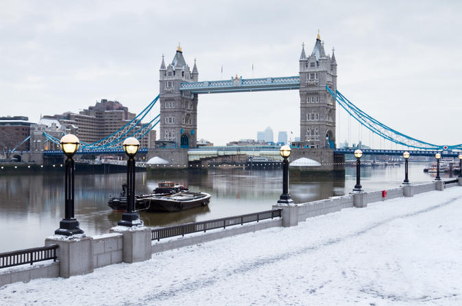 River Thames Christmas Cruise with Lunch or Afternoon Tea