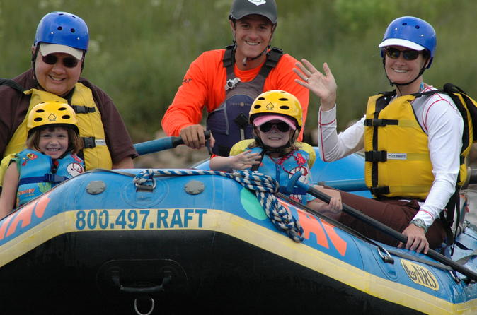 Milk run 2 hour family rafting trip in buena vista 330481