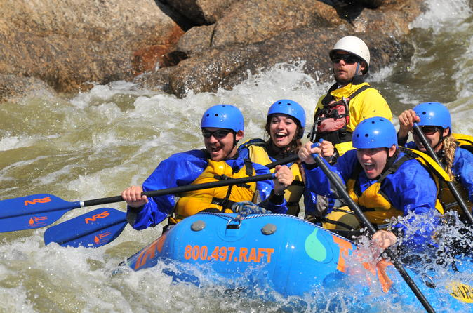 Numbers full day rafting trip in buena vista 330617