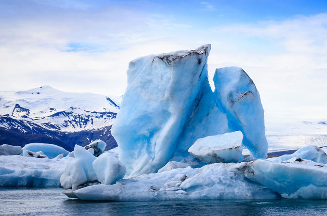 2 day Jökulsárlón Glacier Lagoon and the South Coast Private Tour from Reykjavik