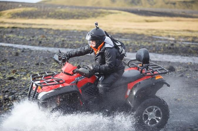 Private South Iceland Day Trip From Reykjavik Including 2-Hour Quad Bike Tour