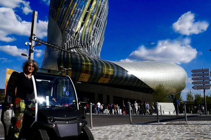 Self guided bordeaux city sightseeing tour in an electric vehicle in bordeaux 403380