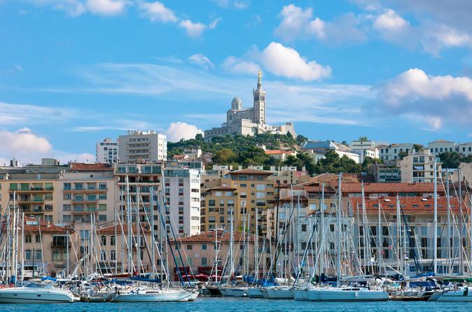 Excursão turística pela Provença: Passeio aos calanques de Marselha e Cassis