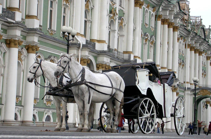 1 Day Imperial Saint Petersburg Highlights Tour Visas Included