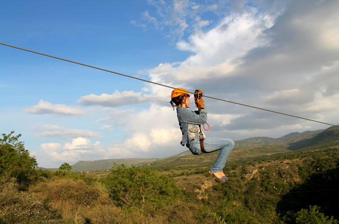 Zipline and hanging bridges tour at parque de aventuras san miguel in san miguel de allende 327712