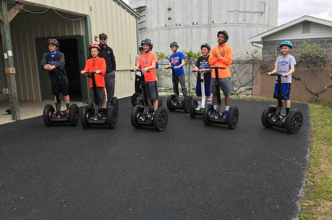 7 minute ride on segway track in branson 330051