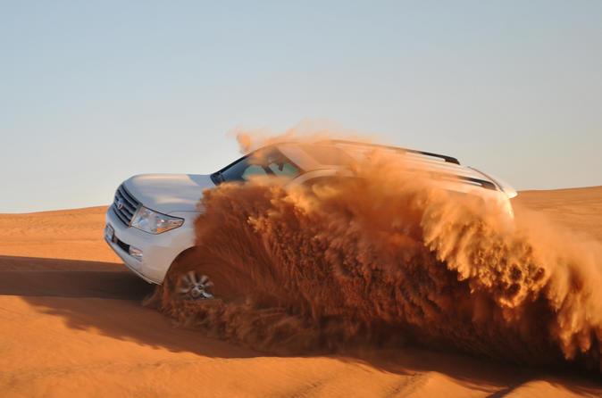 Dubai Desert Tour with 4x4 Dune Bash and BBQ Dinner