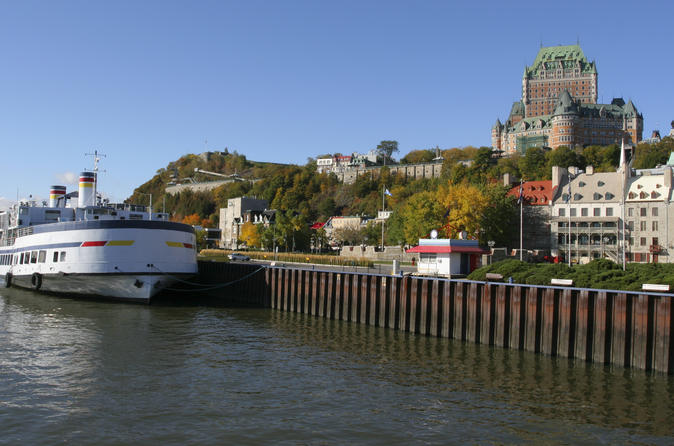 Quebec city historic discoverers cruise in quebec city 180767
