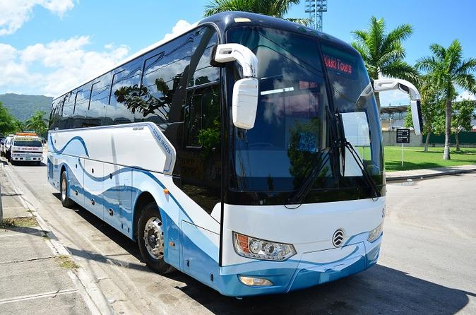 Montego Bay Airport to RoseHall Hotels Shared Transfers