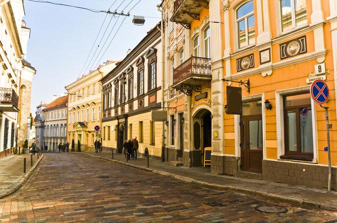 Vilnius city sightseeing tour in vilnius 154292