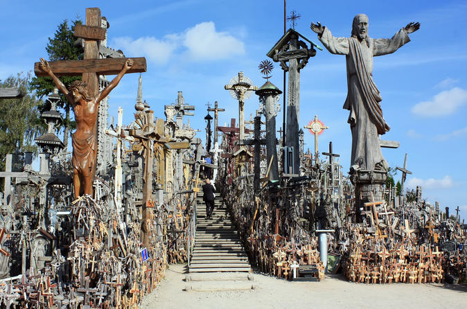 Vilnius private tour to the hill of crosses near siauliai in vilnius 142813