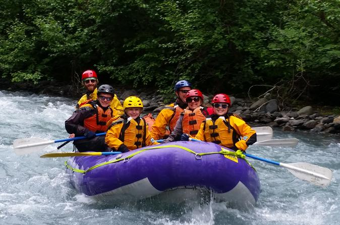 Whitewater Rafting Glacier Creek