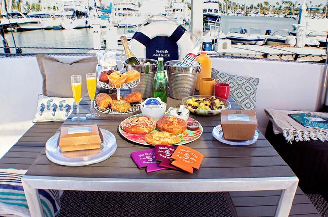 Champagne Brunch and Private Sailing Tour