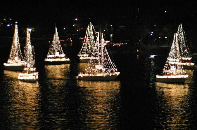 Private Boat Charter for The Mission Bay Boat Parade of Lights