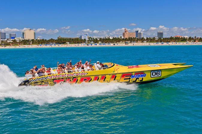 Excursão turística de lancha por Miami