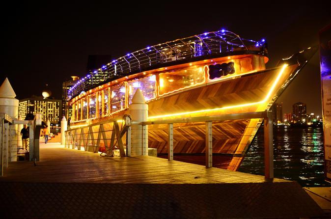5 Star Marina Dhow Cruise Dinner With Transfers - Dubai