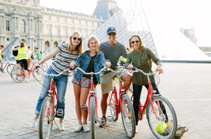 Paris Night Bike Tour with Eiffel Tower Skip-the-Line Ticket