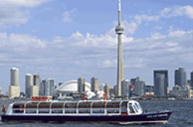 Cruzeiro à ilha e porto interno de Toronto