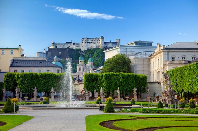 Grand Salzburg City Tour including Hellbrunn Palace and 24 Hour Salzburg Card