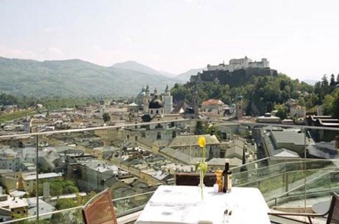Panoramic Salzburg City Tour with Coffee and Cake