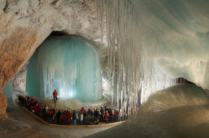 Werfen Ice Caves Tour from Salzburg