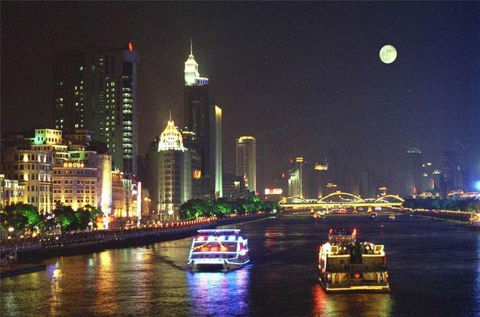 Guangzhou Pearl River Evening Dinner Cruise Tour  in China Asia