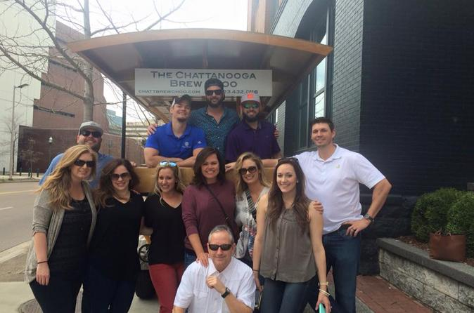 Chattanooga brew choo pedal pub in chattanooga 331308