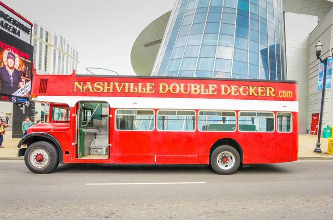 Nashville double decker bus tour in nashville 330520