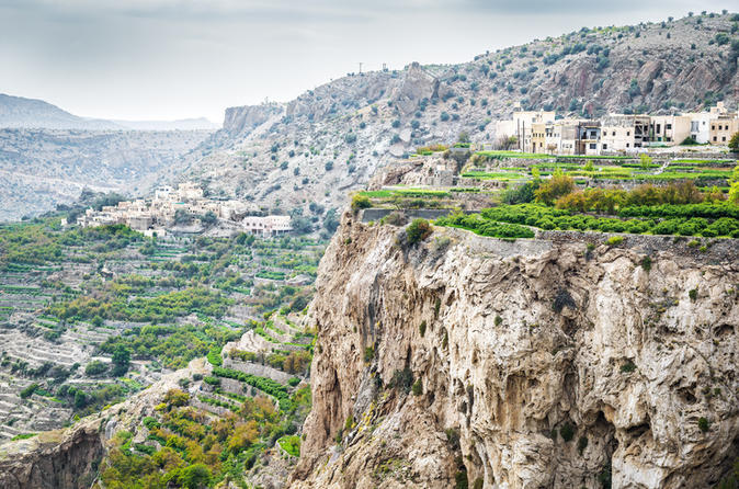 Full-Day Guided Jebel Akhdar Tour From Muscat