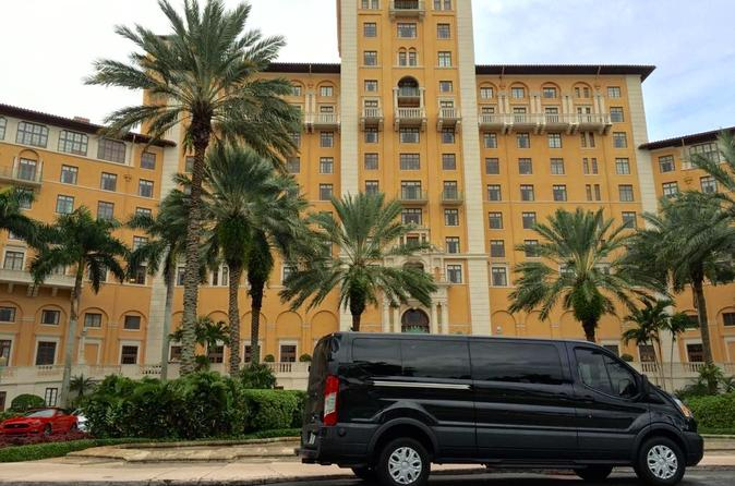 Private Miami City Tour by Minibus with Optional Biscayne Bay Cruise