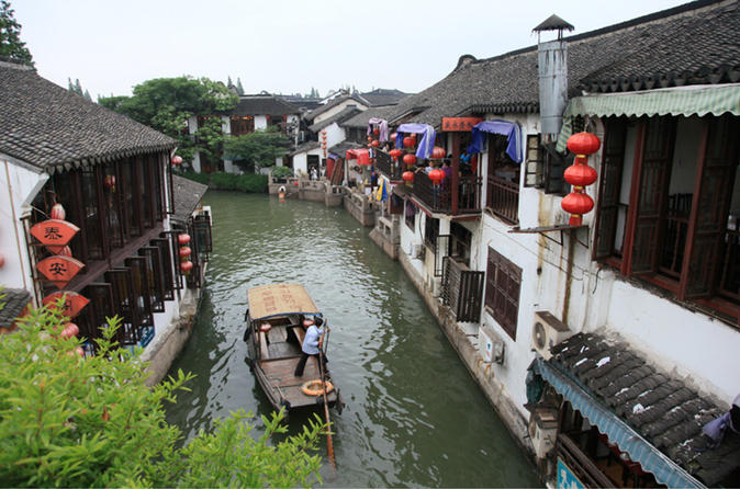 Private Day Tour of Zhujiajiao Water Town from Shanghai China, Asia