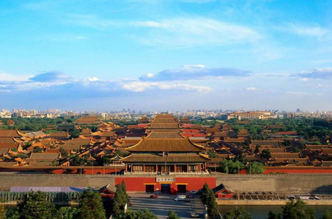 Private Great Wall, Forbidden City, Tiananmen Square in One Day from Beijing