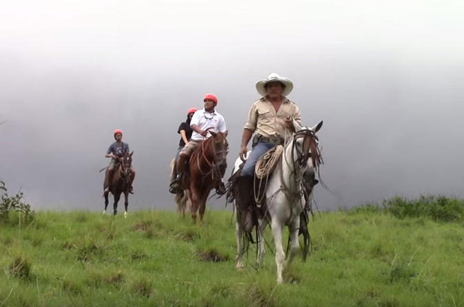 Horseback Riding, Zipline and Hot Springs Tour in Guanacaste