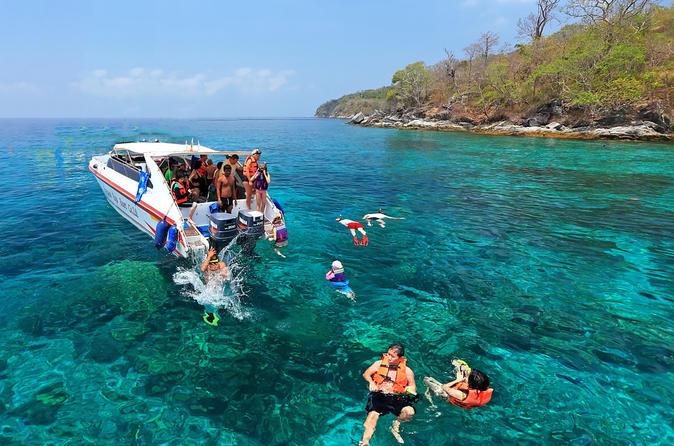 phuket tours racha island trip