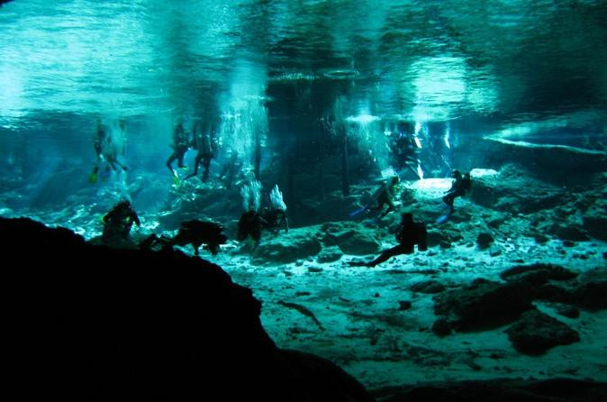 Cenotes 2-Tank Scuba Diving Adventure from Merida Mexico, North America