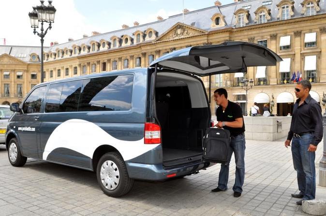 Trasferimento in navetta all'arrivo a Parigi: aeroporto Charles de Gaulle (CDG)