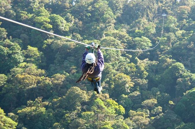 Zipline and Rappelling in Monteverde