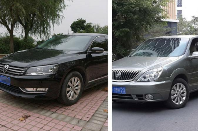1-way Transfer Between Shanghai Pudong Airport and Wuxi Downtown Per Vehicle Price