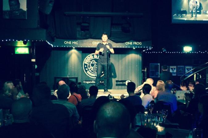 Frog and Bucket Comedy Club Admission in Manchester