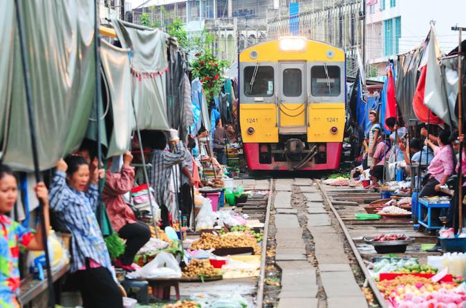 Full-Day Bangkok Floating Markets Food Tour