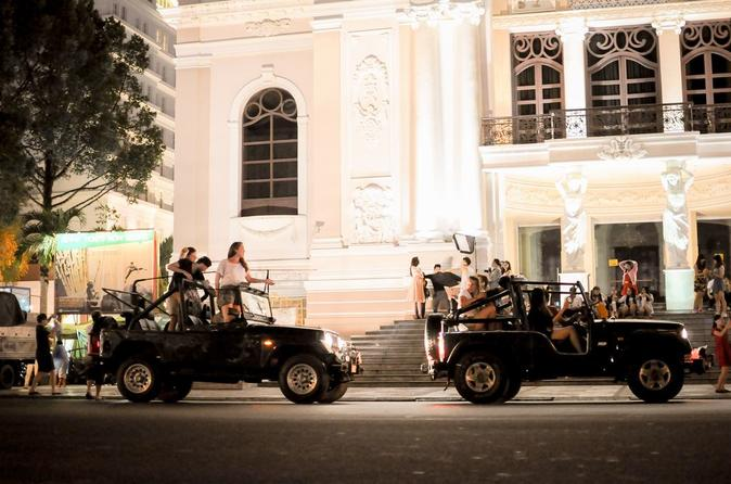 Ho Chi Minh City Jeep Tour Saigon by Night in Vietnam Asia