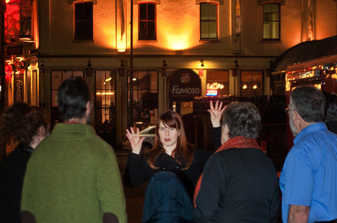 Ghostly Walking Tour in Victoria